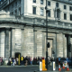The queue for Open House weekend at London's Bank of England building stretched around the block